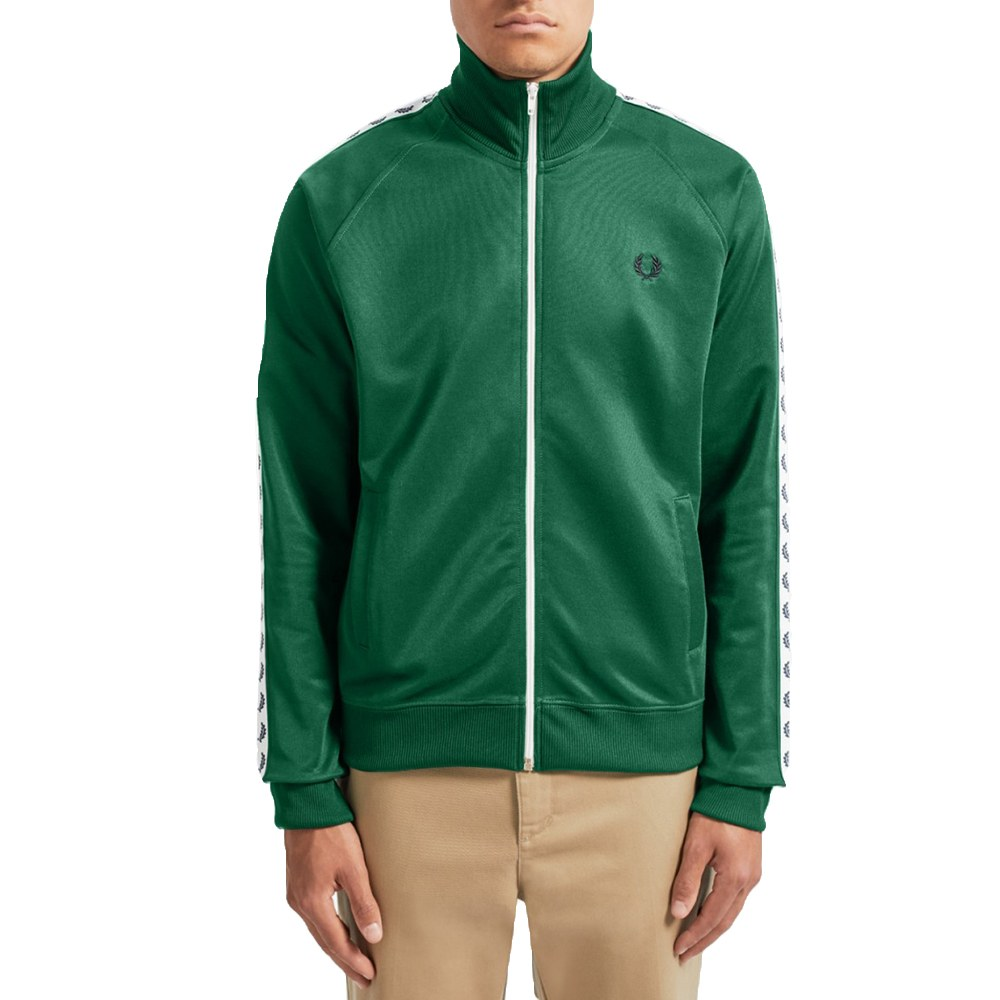Fred perry |Fred perry casaco taped track carbon blue Fred