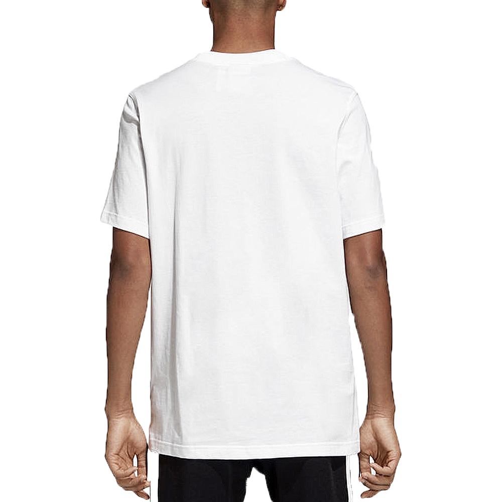 Adidas  Adidas tshirt camo label tee white Adidas DH4768