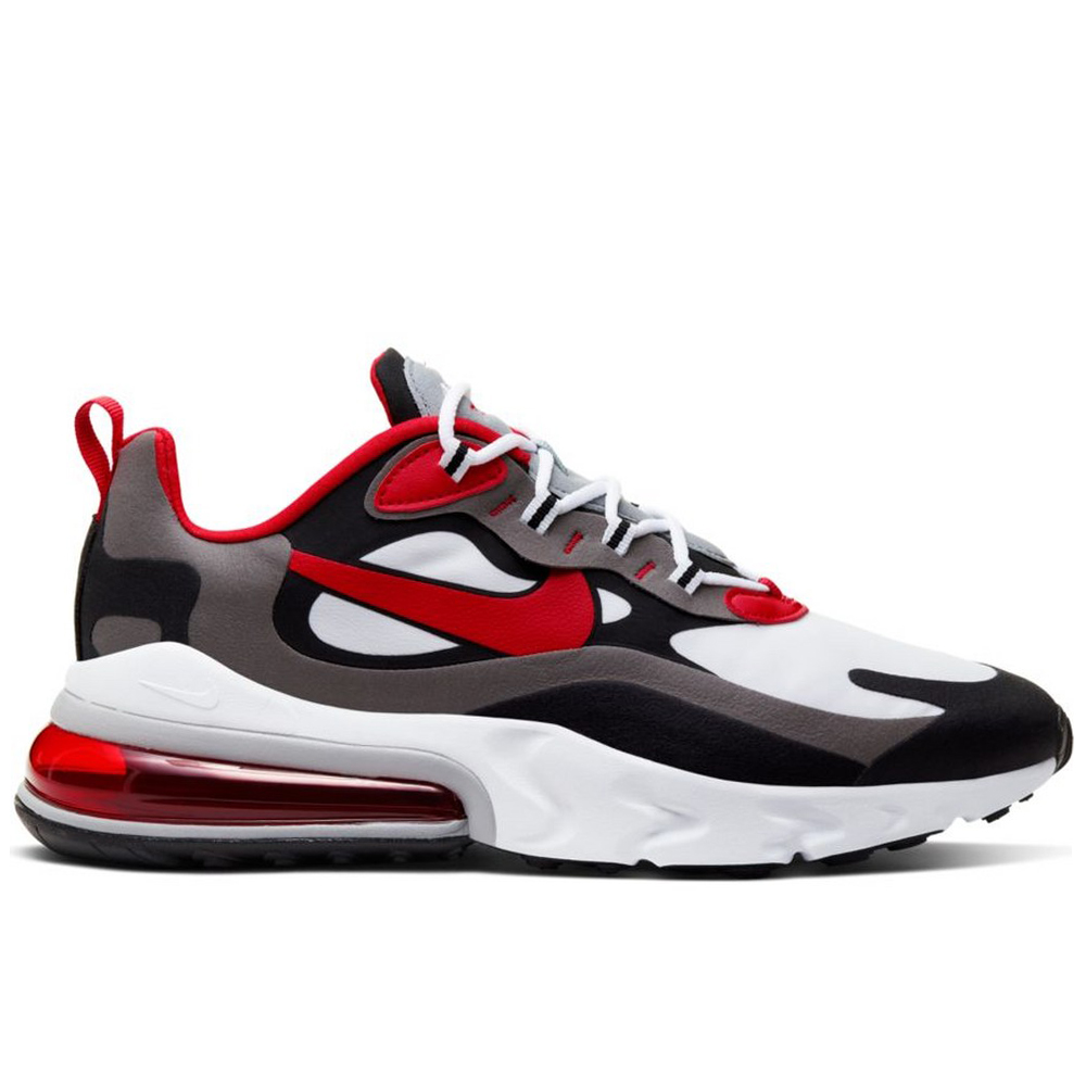 Nike Air Force 270 Summit Universidade BrancoVermelhoCinza