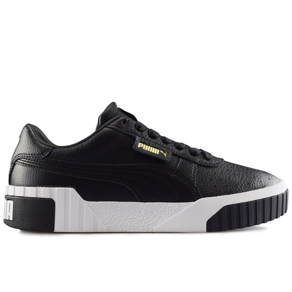 cheaper 65960 91a3c PUMA CALI WNS PUMA BLACK- PUMA WHITE (CLM)