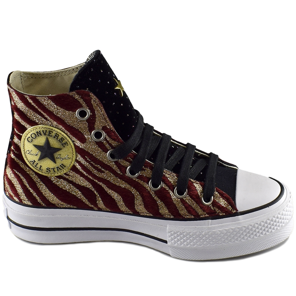 d1dcd2074fc CONVERSE ALL STAR CTAS LIFT HI BLACK GOLD LTD (CLU)