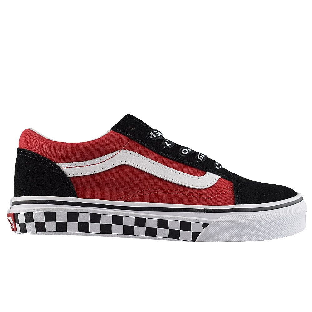 ed9f252f2c1 VANS OLD SKOOL (LOGO POP) BLK  TRUE WHT (CLJ)