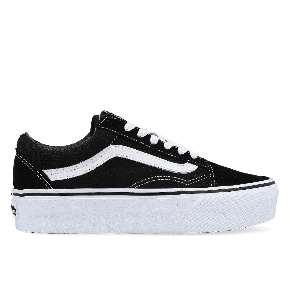 9e59b7879a4 VANS OLD SKOOL PLATFOR BLACK WHITE (CLU)